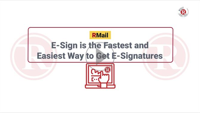 E-Sign is the Fastest and Easiest Way to Get E-Signatures