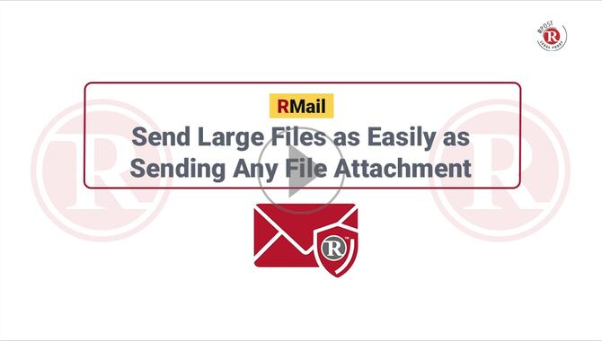 How to Send Large Files as Easily as Sending Email Attachment