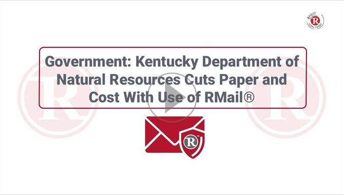 Video-User-Story-Kentucky-Department-Natural-Resources-Registered-Email-Service