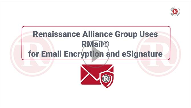 Video-User-Story-Renaissance-Alliance-ESign-and-Email-Encryption