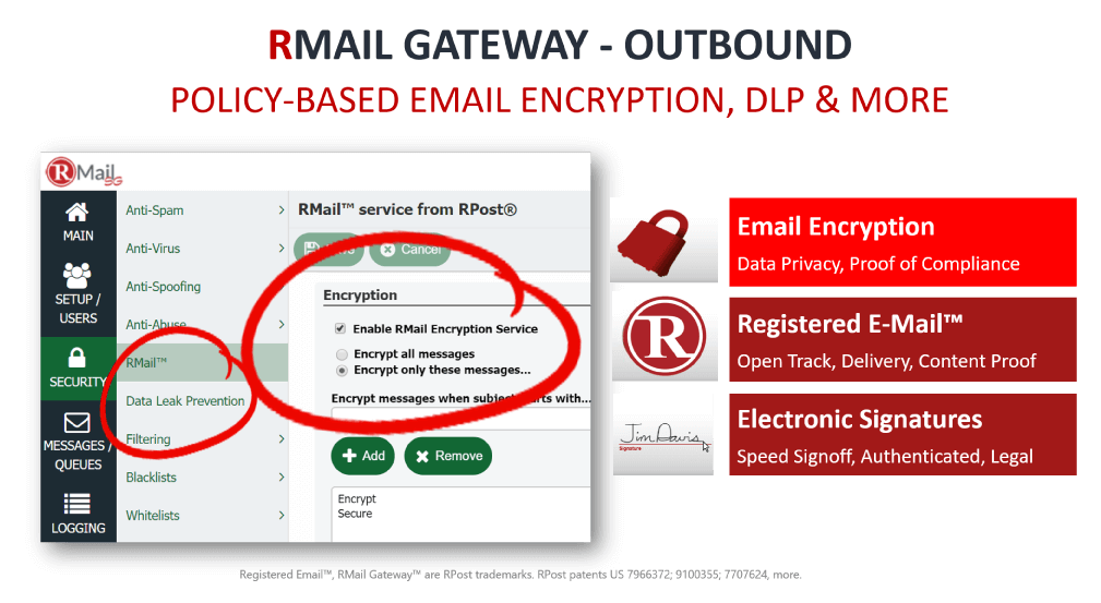 RMail Gateway Outbound