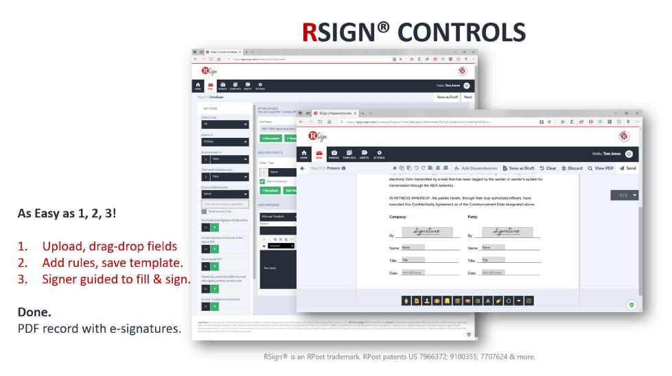 RSign Controls