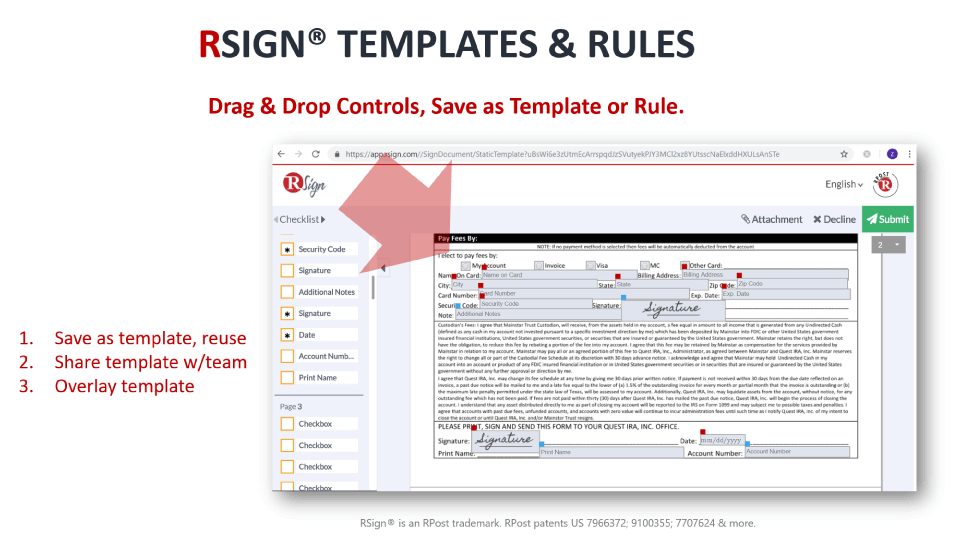 RSign-Template-Rules