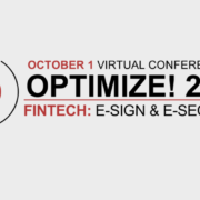 RPost Opens its Optimize FinTech E-Sign & E-Security Virtual User Conference